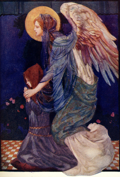 the-guardian-angel William Russell Flint